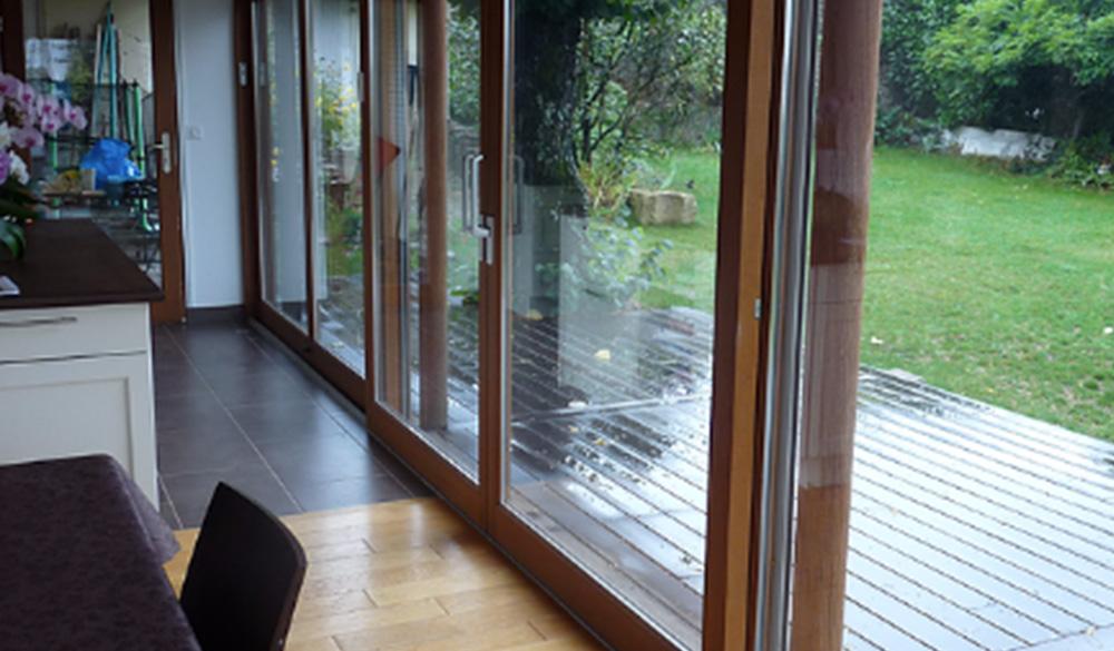 BAIES-COULISSANTES Fenêtres et Baies - Ozea ouverture