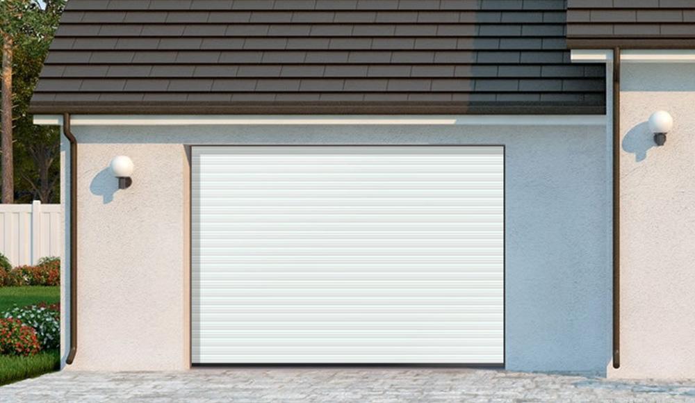 porte-de-garage-nuit Portes de garage - Ozea ouverture