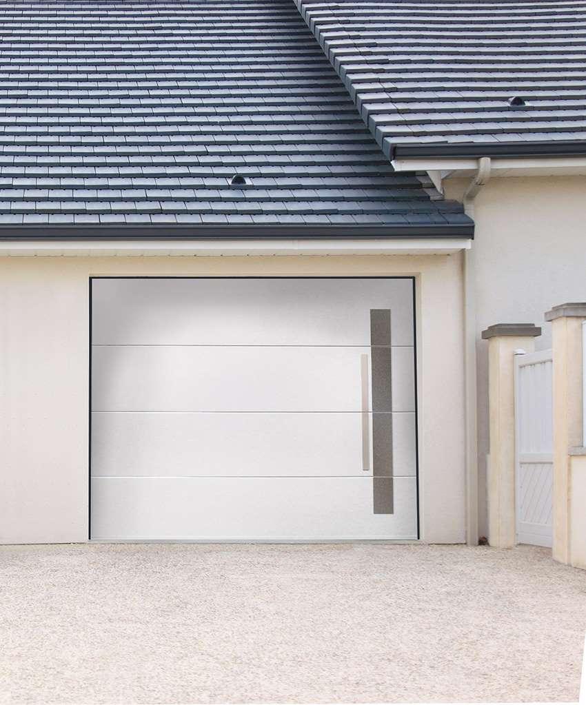 Ozea-Fame_sectionnel_plafond_1 Portes de garage - Ozea ouverture