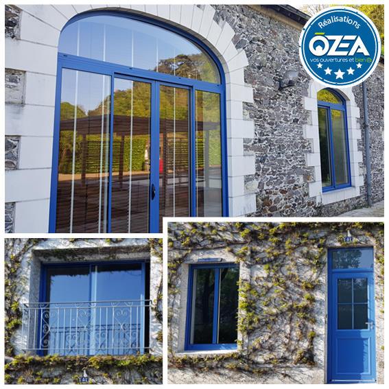 OZEA ouvertures realisation maison de campagne
