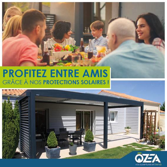 OZEA protaction solaire profitez entre amis