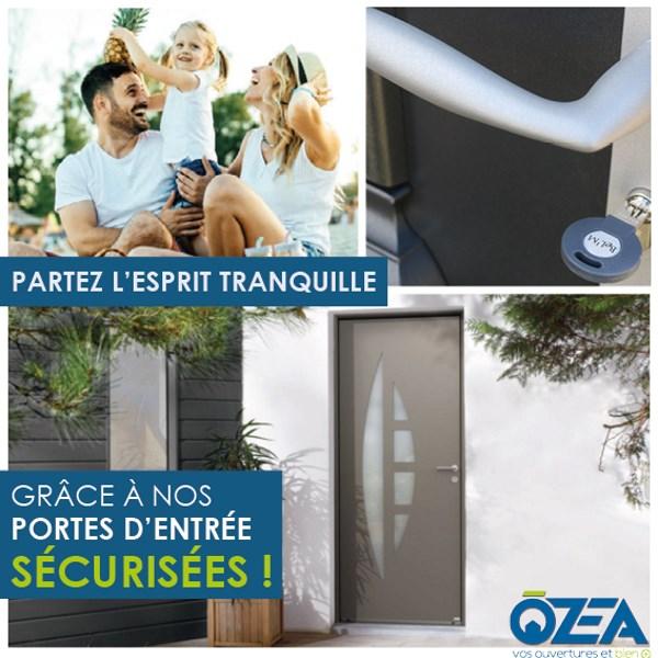 porte sécurisé OZEA