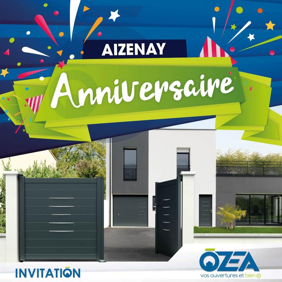 OZEA Invitation anniversaire Aizenay