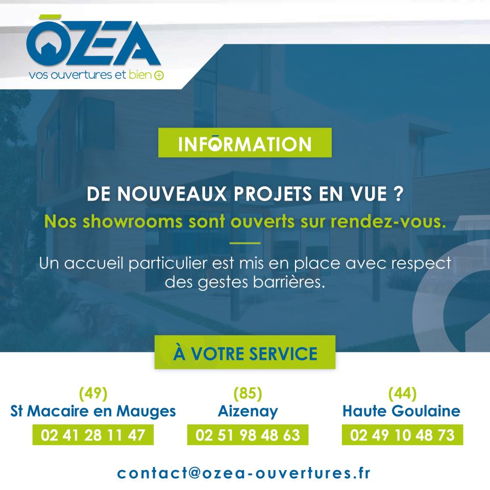 showroom ouverts