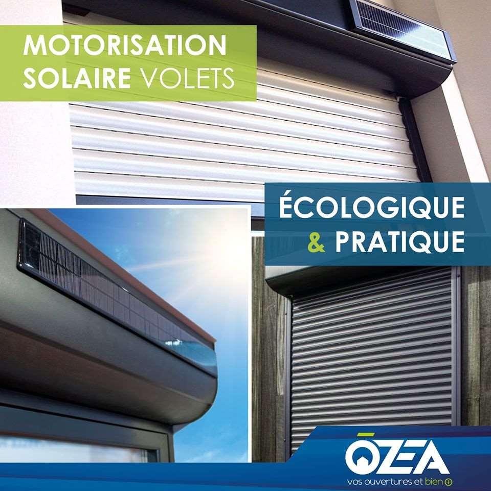 motorisation solaire de volets et automatisme