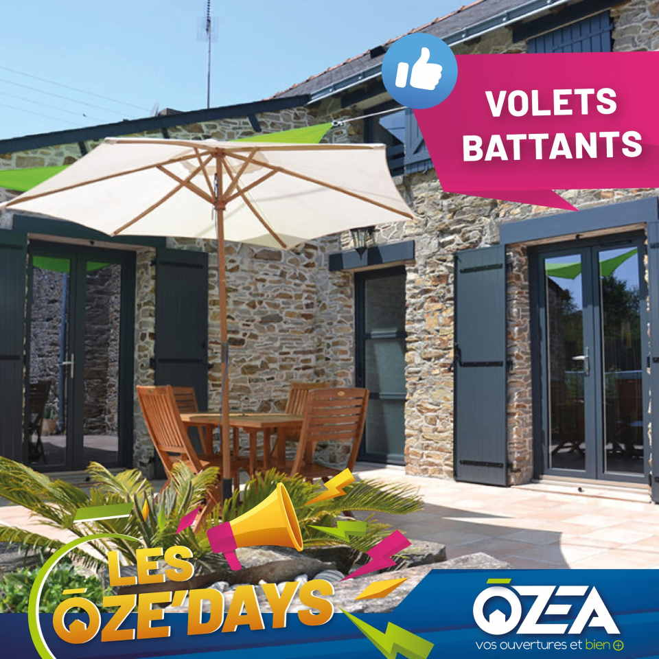 OZE DAYS Volets battants
