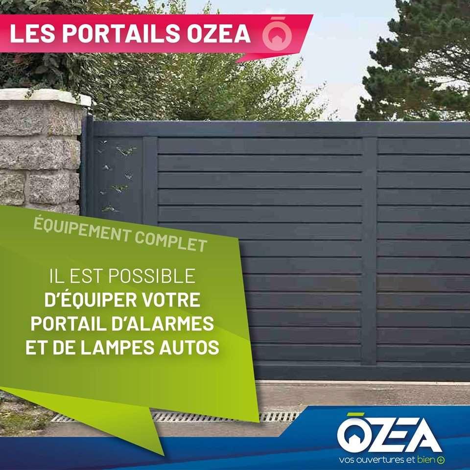 Les portails OZEA Equippement complet