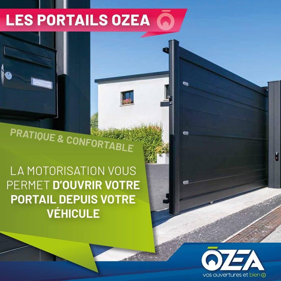 Les portails Ozea pratiques et confortables