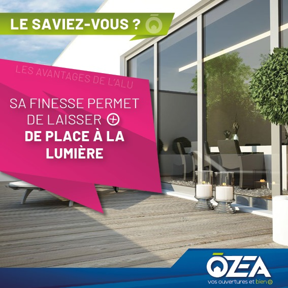 OZEA avantages alu 2