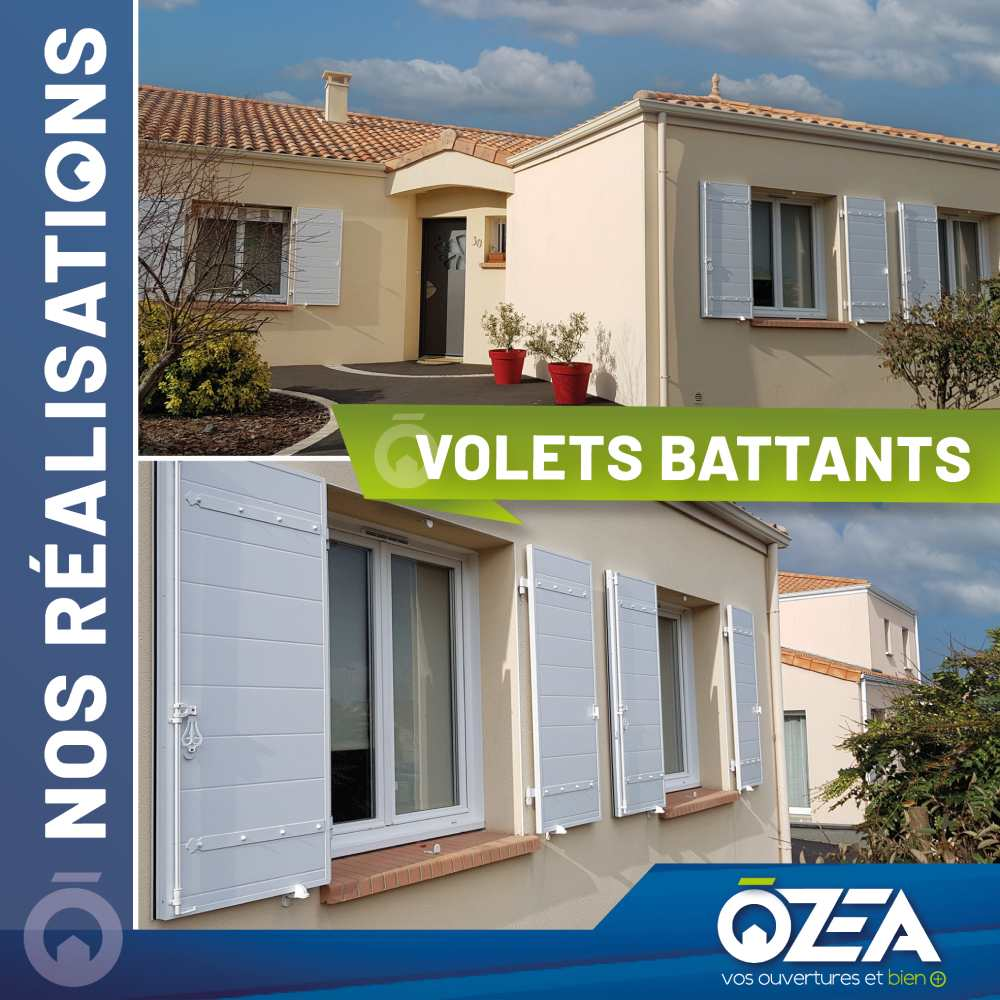 OZEA Volets battants
