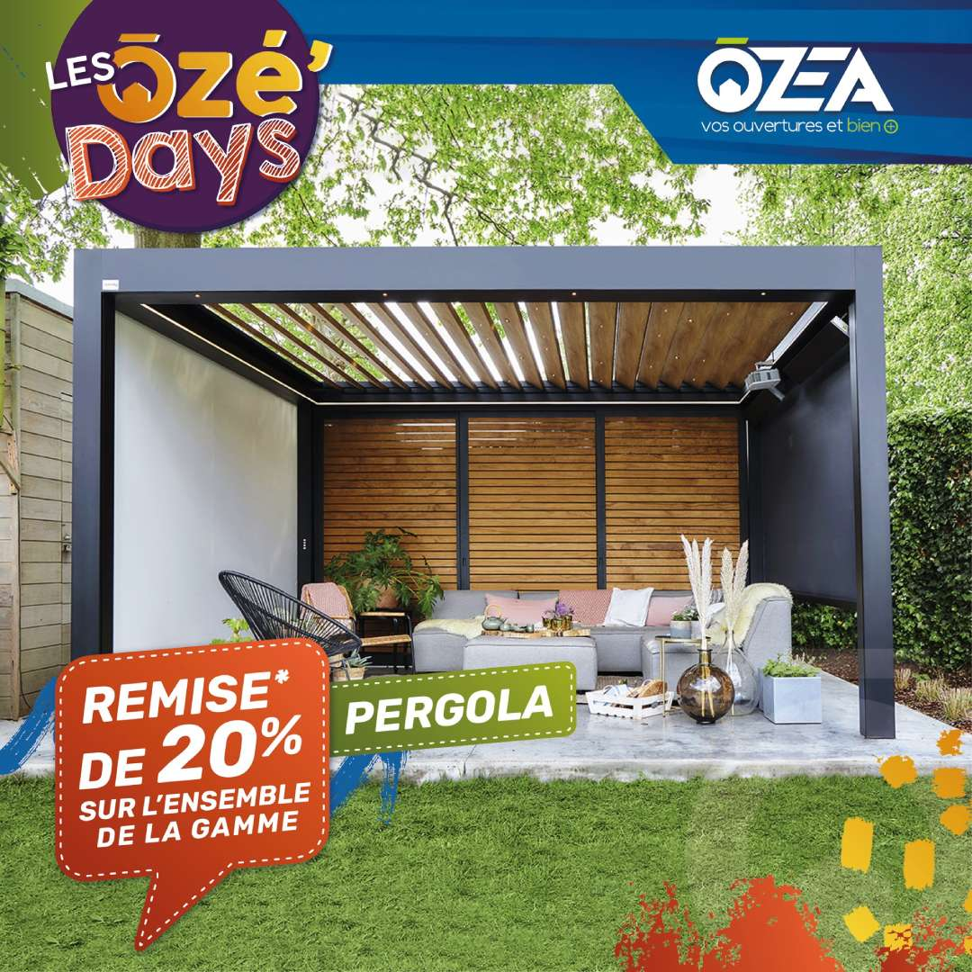 ozea pergolas days